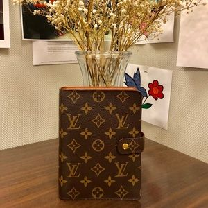 LOUIS VUITTON Mono Agenda MM
